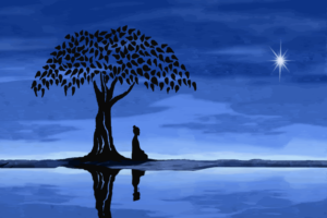 Buddha-Meditation-Tree